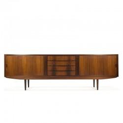 Extra large vintage rosewood sideboard