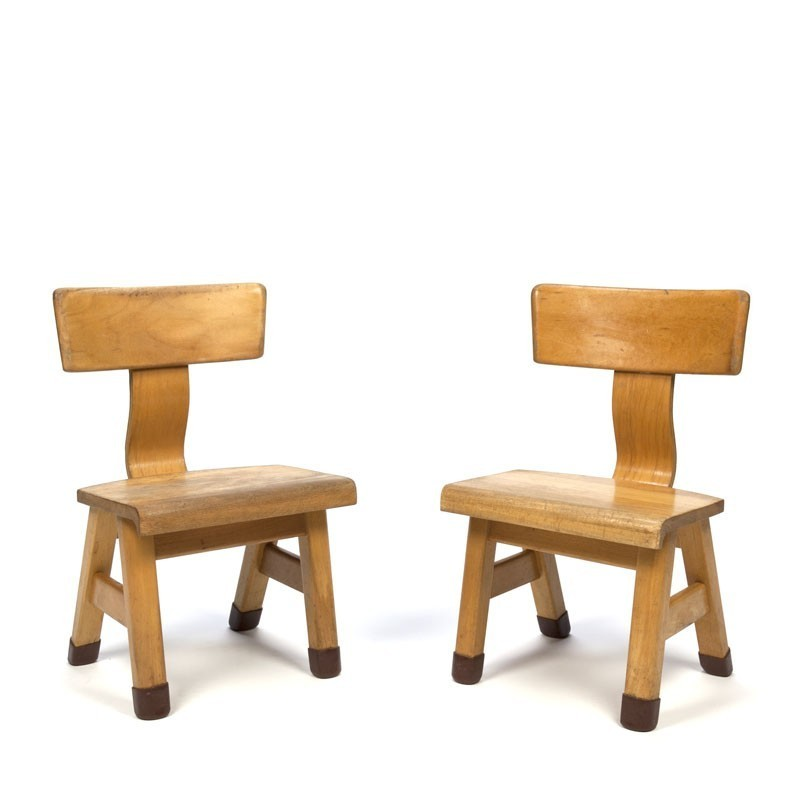 Set van 2 vintage Rolf stoeltjes