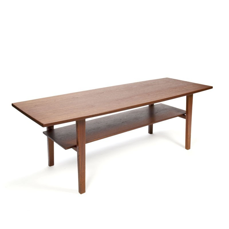 Vintage Teak Coffee Tables: Large Vintage Danish Teak Coffee Table