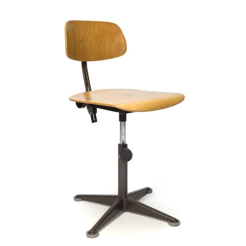 Vintage brown architect chair design Friso Kramer  sc 1 st  Retro Studio & Vintage brown architect chair design Friso Kramer - Retro