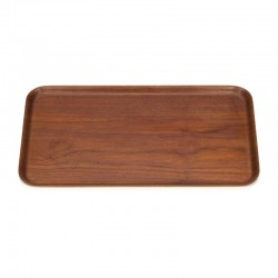 Vintage Swedish teak tray brand Ary