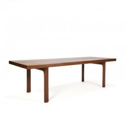 Vintage solid teak coffee table