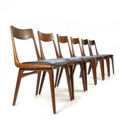 Vintage set Boomerang stoelen ontwerp Erik Christensen