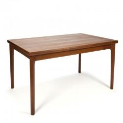 Vintage Danish dining table design H. Kjaernulf