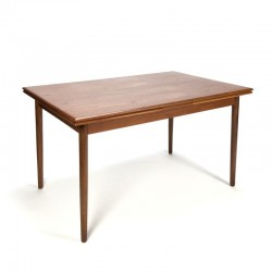 Vintage extensible teak dining table from Denmark