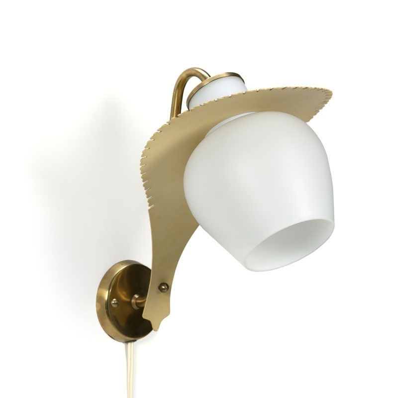 Vintage Danish design wall lamp