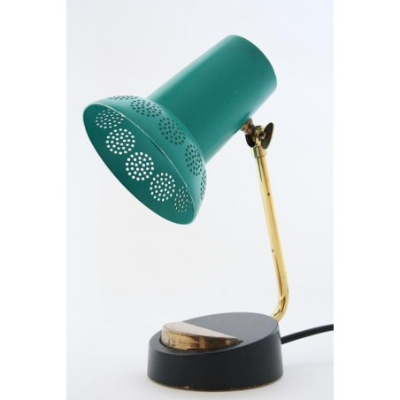 Green/ brass colored table or desklamp