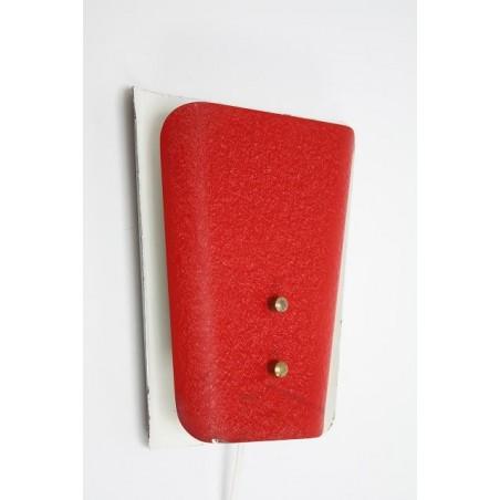 Wandlamp jaren 50 rood