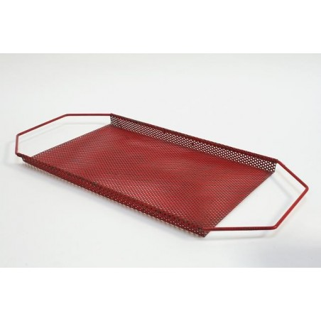 Perforated metal tray