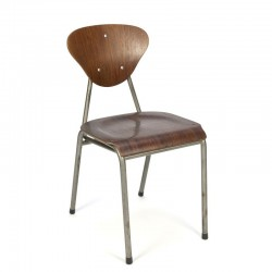 Danish industrial dining chair