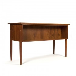 Danish vintage small model desk in teak
