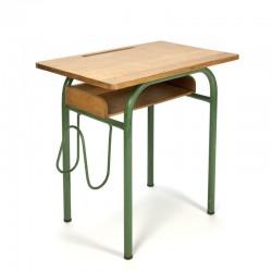 Vintage groen Frans tiener bureau