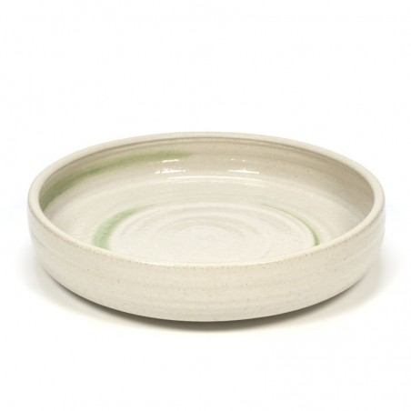 Large vintage ceramic bowl by Mobach
