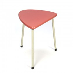 Pink vintage sixties side table