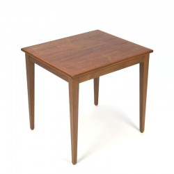 Danish vintage small side table