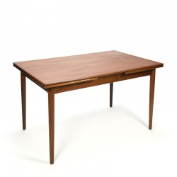 Teak vintage Danish dining table extandable