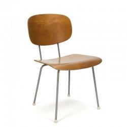 Vintage Gispen 116 stoel ontwerp Wim Rietveld