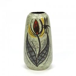Vintage West Germany vase with flower image