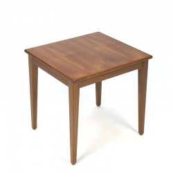 Small vintage side table or plants table in teak