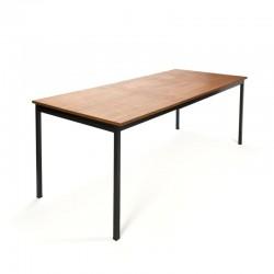 Vintage Gispen extendable dining table model 3707