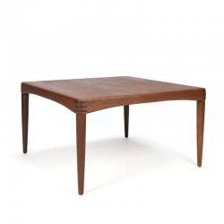 Deense vintage Bramin salontafel in teak
