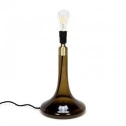 Vintage glazen tafellamp Le Klint