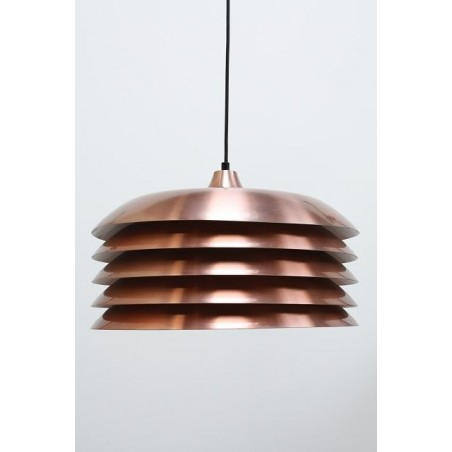 Discs hanging lamp brass colored
