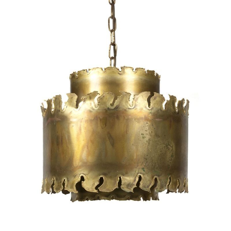 Danish vintage hanging lamp design Holm Sorensen