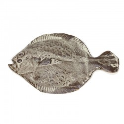 Vintage wall decoration fish gray