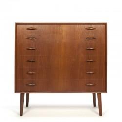 Luxurious Danish vintage chest of drawers Nexo Johannes Sorth