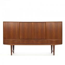 Vintage Deens teakhouten dressoir E.W. Bach