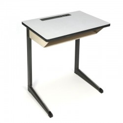 Vintage industrial school desk Marko