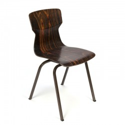 Industrial vintage school chair Eromes