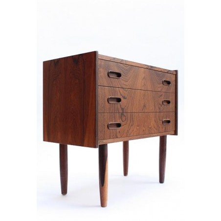 Small rosewood chest of drawers 3