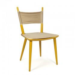 Vintage yellow Jorgen Baekmark J108 chair