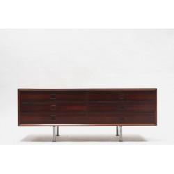 Brouer laag dressoir van Palissander hout