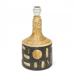 Vintage Deense lampenvoet van aardewerk