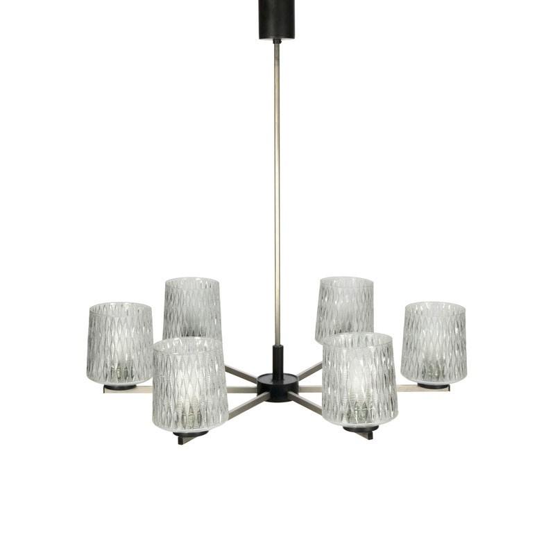 Hanging Lamp Nl: Large Vintage Fifties Hanging Lamp