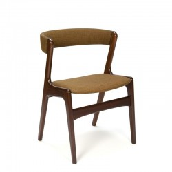 Deense vintage teakhouten design stoel