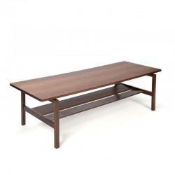 Teak vintage coffee table