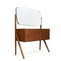Teakwood dressing table vintage Danish design