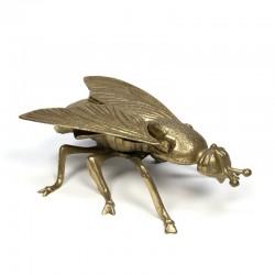 Vintage object brass fly
