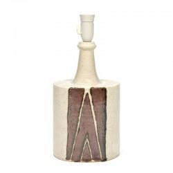 Vintage aardewerk lampenvoet Deens design