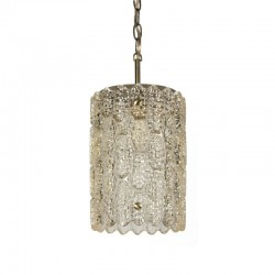 Vintage hanglamp ontwerp Carl Fagerlund voor Orrefors