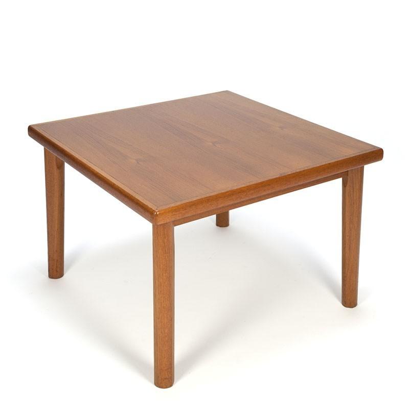 Admirable Danish Vintage Square Coffee Table Retro Studio Evergreenethics Interior Chair Design Evergreenethicsorg