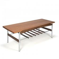 Vintage teak Topform coffee table