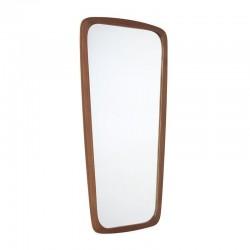Deense zestiger jaren spiegel in teak
