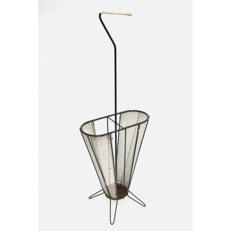 Metalen paraplu standaard jaren 50