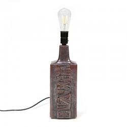 Vintage lamp base Danish design