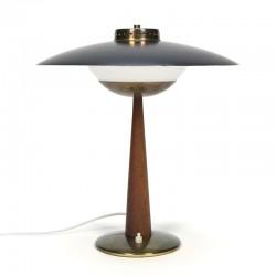 Scandinavische design tafellamp jaren vijftig